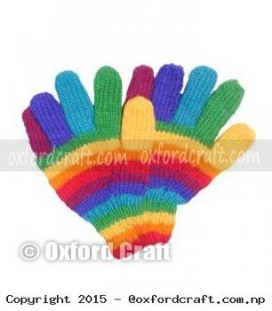 Woolen Finger Mitten