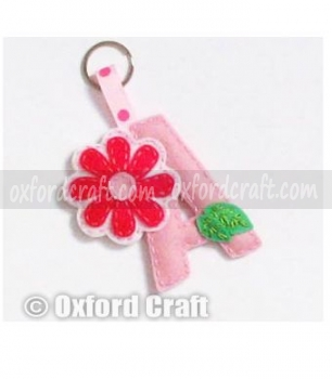 Wool Felt Key Ring
