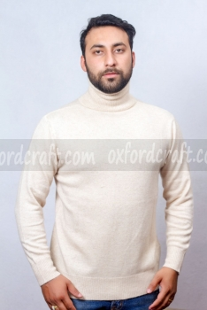 Cashmere Gents High Neck Sweater
