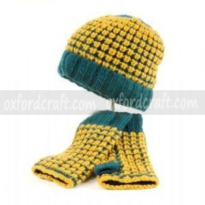 Hat With Hand Warmer
